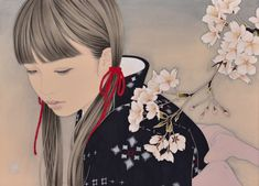 The Best of Beautiful and Creatives Artworks around the Wold Miyazaki, Oriental, Exhibition, Japanese Painting, Japan Art, Kawaii Girl, Illustration Girl, Western Art, Illustrations And Posters