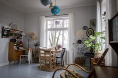 Norjalaisia koteja ja jouluideoita