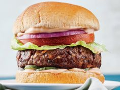 It's time to flip your burger! The protein in your burger, that is. Chefs and major food-service companies alike have had huge success with plant-forward burgers because they're delicious, satisfying, and better for you. We upped the veggie-to-beef ratio in this makeover of a classic burger for a patty that's much lower in fat, yet full of meaty satisfaction. View Recipe: Mushroom-Beef Burger