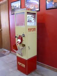 vintage popcorn vending machine - Google Search