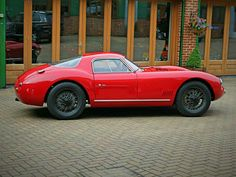 1968 ATL-Alfa Romeo 2000 Sports Coupe. It was built by Autotecnica del Lario of Lecco.