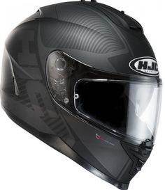 HJC IS-17 Mission Black   My Helmet ! :)