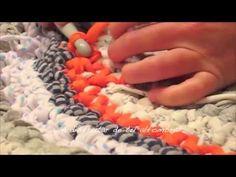 COMO HACER ALFOMBRA CROCHET XXL, via YouTube.