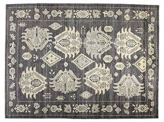 "One Kings Lane - Unique Foundations - 6'5""x9'3"" Kotan Rug, Gray"