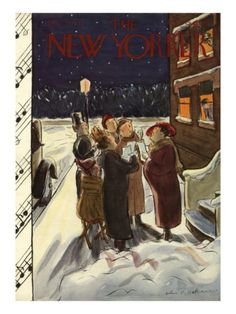 The New Yorker Cover - December 23, 1933 Helen E. Hokinson