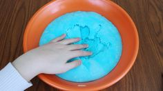 How to Make Iceberg Slime! DIY Crunchy Fluffy Slime! - YouTube