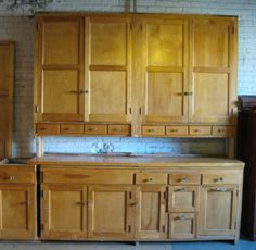 Elegant Salvage Kitchen Cabinets, Similar To The Ones Tara Uses In The Novel Shabby  Chic At