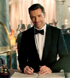 Mr. Hugh Jackman.. you look mighty fine in a suit...