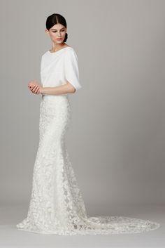Lela Rose-The Dock Love the skirt #wedding #weddinginspiration #weddingdress