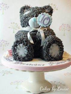 Tatty Bear Cake by Cakes By Louise.