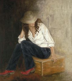 Erica Hopper - Red Boots Daughter by Artexpo, via Flickr