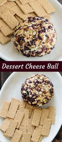 This dessert cheese ball will make a gorgeous addition to any holiday gathering. It takes no time to prepare with only 7 simple ingredients.