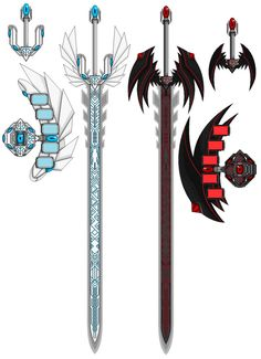Slifer the Sky Dragon Battleaxe by Mistress-DarkLoki on DeviantArt Fantasy Sword, Fantasy Weapons, Fantasy Art, Robot Concept Art, Weapon Concept Art, Yugioh Duel Disk, Sword Art Online, Guerra Anime, Sword Drawing