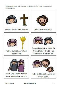 Biblische Geschichten: Ruth und Naomi