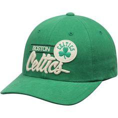 Boston Celtics Mitchell & Ness Morbido Slouch Snapback Adjustable Hat - Kelly Green