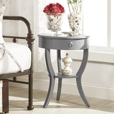 You'll love the Decatur 1 Drawer End Table at Wayfair - Great Deals on all Furniture  products with Free Shipping on most stuff, even the big stuff.
