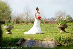 Spring bride at Moorland Garden Memories, Bride, Wedding Dresses, Spring, Garden, Image, Fashion, Memoirs, Wedding Bride