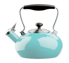 Chantal turquoise tea kettle by Online Wedding Registry, Gift Registry, Kitchen Tools And Gadgets, Kitchen Items, Kitchen Utensils, Red Apple, My Favorite Color, Favorite Things, Crate And Barrel