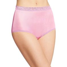 f9cd014ba60f 6-Pack Hanes Women's Nylon Brief Panties - Assorted Colors/Prints - Size 6
