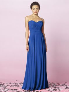 After Six Style 6639 #blue #bridesmaid #dresses