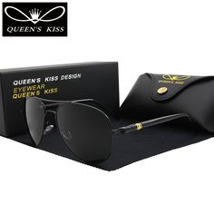 Find More Sunglasses Information about QUEENS KISS Classic Brand polarized sunglasses Fashion HD Glare men women sun glasses high quality driving Aviation sunglasses ,High Quality aviator brand sunglasses,China aviator sunglasses Suppliers, Cheap aviator sunglasses brand from QUEENS KISS QUEENSKISS-007 Store on Aliexpress.com