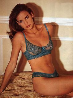 Victoria's Secret, early 90sModel: Jill Goodacre aka Mrs. Harry Connick, Jr.