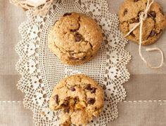 Choc Chip Chia Cookies #lowsugar #wheatless