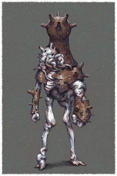 """quarkmaster: """" Random character I have attached some not very useful steps in case anyone is interested : ) Konstantin Kostadinov """" Aliens, Character Concept, Character Art, Character Design, Fantasy Monster, Monster Art, Creature Concept Art, Creature Design, Science Fiction"""