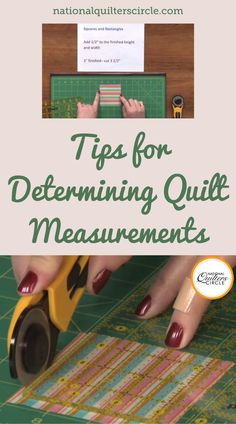 Joli Sayasane gives you a lesson on how much extra fabric and where to add it. You will learn that you need to add ½ to the height and width of squares and rectangles, 7/8 to the short side of half square triangles, 1 ¼ to the long side of quarter square triangle, and either multiply or divide by 1.414 for a triangle depending on the side. Try to memorize these cut sizes to easily give you finish sizes that you want. Quilting For Beginners, Sewing Projects For Beginners, Quilting Tips, Quilting Tutorials, Quilting Projects, Quilting Designs, Sewing Dolls, Quilt Block Patterns, Easy Quilts