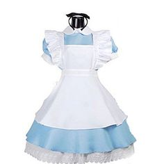 TAILUN Women Halloween Alice in Wonderland Costume Cosplay with Apron TAILUN http://www.amazon.com/dp/B00O6RMC54/ref=cm_sw_r_pi_dp_C2WRvb0T2PBWH