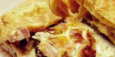 Εύκολη μανιταρόπιτα Salty Tart, Mushroom Pie, Puff Pastry Sheets, Greek Cooking, Greek Dishes, Greek Recipes, Apple Pie, Bacon, Stuffed Mushrooms