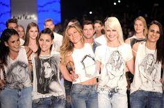 T-shirts colecionáveis Gisele Bündchen by Colcci | Jornalwebdigital