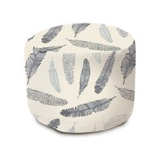 Goose Feathers Pouffe