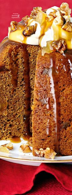 Sticky Gingerbread Pudding