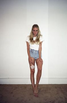 Chloe Sevigny showin of those ridiculous gams.