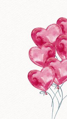 Ideas Birthday Wallpaper Balloons Happy For 2019 Flower Wallpaper, Wallpaper Backgrounds, Iphone Wallpaper, Tumblr Wallpaper, Valentines Day Wallpaper Phone Wallpapers, Birthday Wallpaper, Heart Wallpaper, Pink Wallpaper, Cute Wallpapers