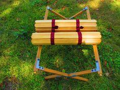 美しい日本:D.I.Y. 木製ロールトップテーブル