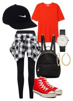 """""""Untitled #247"""" by monkeyblooo ❤ liked on Polyvore featuring STELLA McCARTNEY, NIKE, Converse and Fragments"""
