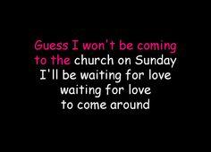 waiting for love karaoke avicci