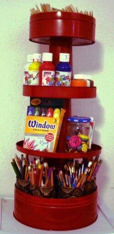 Tudo organizado