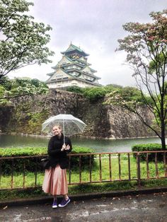 The history all throughout Japan was incredible!  Lucky enough to venture around Osaka Castle during Golden Week