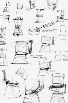 Sketches we like / Linedraw / Pencil / White Goods /