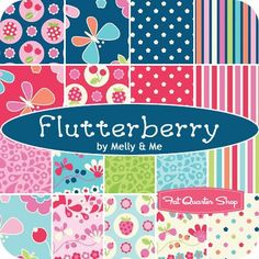 """Flutterberry 5"""" StackerMelly & Me for Riley Blake"""