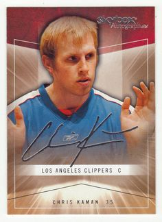 Chris Kaman # 28 - 2004-05 SkyBox Autographics Basketball