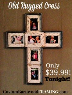 marcos barnwood ideas del arte bricolaje marcos de fotos frame crosses cross frame cross custom beautiful cross rugged cross stanch merchandise