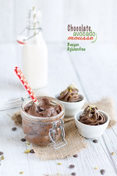 Mousse Cioccolato Avocado Vegan e #senzaglutine | Chocolate Avocado mousse #vegan #glutenfree