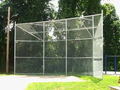 Softball Backstop | Baseball Backstops, Chain Link Fence, baseball backstop net Basketball Equipment, Chain Link Fence, Baseball Field, Outdoor Structures, 42 Inch, Softball, Chains, Diamond, Ideas