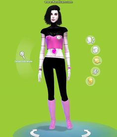 "voodooling: "" SO I MADE A METTATON SIM… DARLING! For the skin, top, and the invisible 'pants' that I made for this sim, you can download it here! The black neck tattoo is from here, boots from here,..."