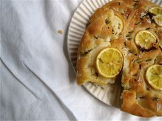 Lemon and Sea Salt Focaccia - Sea Salt recipes curated by SavingStar Grocery Coupons. Save money on your groceries at SavingStar.com