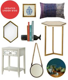 I'm still trying to decorate my studio in #Chicago. Fab Finds Under $100 courtesy of @Blair Culwell | The Fox & She